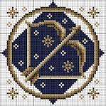 Схемы для вышивки крестом зодиаки