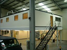 office mezzanine. RAF Training Room Facility With Offices, Shropshire Office Mezzanine  Associated Office
