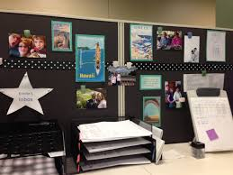 office cubicle decorating. Custom Cubicle Decorations To Improve Your Mondays: New Office Decoration With Black Cabinet And Decorating