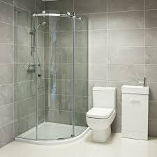 image of corner shower stalls for small bathrooms