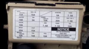 2000 toyota solaria fuse box location youtube 2005 toyota camry fuse box location 2000 toyota solaria fuse box location
