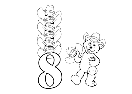 Small Picture 8 coloring page