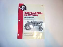 international harvester ih tractor service manual cub 184 185 lo international harvester ih tractor service manual cub 184 185 lo boy ih 50