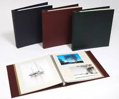 Photot Albums Leather Self Adhesive Photo Albums Handmade In The Uk