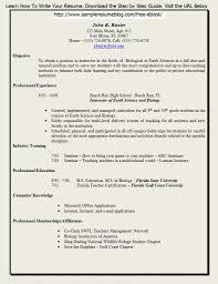 Free Teacher Resume Templates Download It Resume Cover Letter Sample