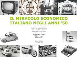 Risultati immagini per IL BOOM ECONOMICO