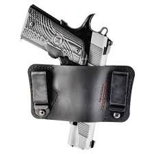 versacarry holsters orion holster owb iwb 1911 size auto ambidextrous black leather size 2