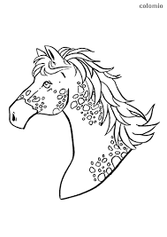 I printed them smaller and included them in some thanksgiving favor bag for coworkers. Horses Coloring Pages Free Printable Horse Coloring Sheets
