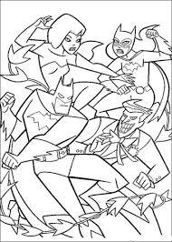 Batman Vecht Kleurplaat Gratis Kleurplaten Printen