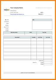 Construction Invoice Template Excel And Electrician Invoice Template
