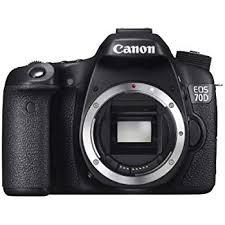 Canon Dslr Camera Comparison Chart 2017 Canon Eos 70d Digital Slr Camera Body Only