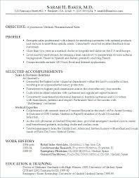 Sample Resume For Pharmaceutical Sales Pharmaceutical Sales Sample ...