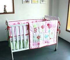 nursery cot bedding sets girl baby bedding embroidery cotton baby cot bedding set for girls crib