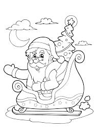 Kleurplaat Kerstman 33 Allermooiste Kerstman Kleurplaten