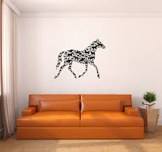 arabian horse wall decals home design style ideas the on horse wall art decal with horse wall decals aishilely