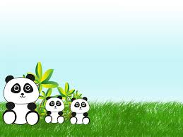 In China Animals Green Grey White Ppt Frame Theme For Web