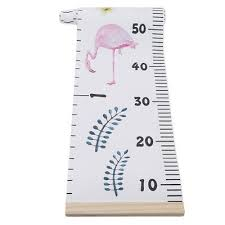 Ruler Measurement Chart Cute Kids Growth Chart Measure Height Ruler Wall Hanging