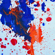 paint with water shooters kid art
