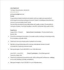 Corporate Event Planner Resume