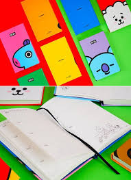 2020 2020 Weekly Planner Bt21 Weekly Planner Monthly Planner Yearly Planner