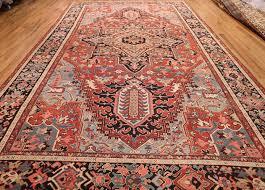large antique serapi persian rug 49392 whole nazmiyal