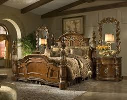 king bedroom sets. Fine Sets Michael Amini Villa Valencia 4 Poster King Bedroom Set Throughout Sets