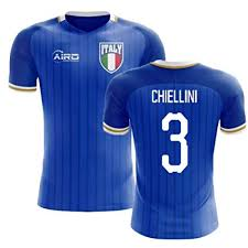 giorgio 3 T-shirt 2018-2019 com Chiellini Soccer Football Italy Amazon Concept Clothing Airosportswear Home Jersey