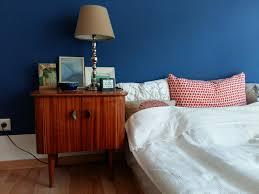 Schlafzimmer Blau Rot Wohndesign