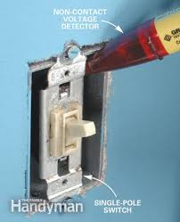 how to install a dimmer switch the family handyman photo 1 check for hot wires