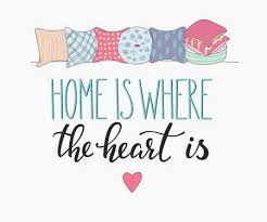 Home Is Where The Heart Is Vector Lettering Motivational Quote Beauteous Home Is Where The Heart Is Quote