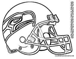 Printable Seattle Seahawks Coloring Page For