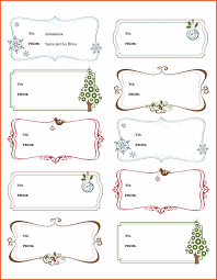 Christmas Template For Word Custom Gift Tag Template Publisher Bire44andwap