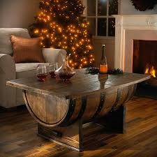 barrel table wine barrel coffee table