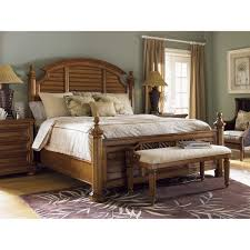Plantation Bedroom Furniture Tommy Bahama 531 536 01 Island Estate Plantain Bed Bench In