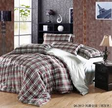 surprising design plaid duvet covers king queen bed comforters size comforter sets