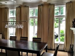 Dining Room Curtains Ideas Love This Dining Room White Painted - Modern dining room curtains