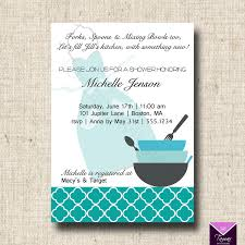 Kitchen Bridal Shower Printable Bridal Shower Invitation And Recipe Card Kitchen