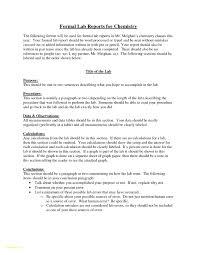 New Chemistry Lab Report Example Valid Sample Matriculation Densityf