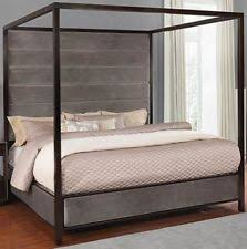 Wood Canopy Bed | eBay
