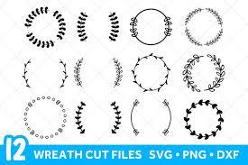 Download 10,162 laurel free vectors. Laurel Wreath Svg Files For Cricut Floral Wreath Svg Bundle 412293 Cut Files Design Bundles