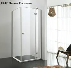 lift hinge shower enclosure easy clean tempered glass shower cubicle shower head bathtub door screen room