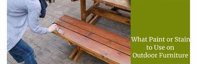 best paint or stain for outdoor