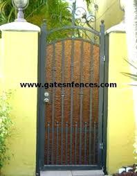 wrought iron garden gates gem stone forged state honda