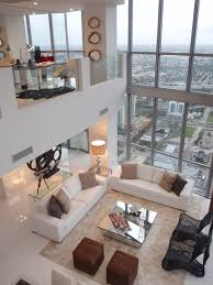 White Furniture Living Room High Ceilings In A Loftthis Is Working With All White Walls By