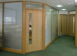 wood office partitions. Wooden Framed Glass Partitions Wood Office