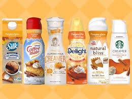 The base of pumpkin spice coffee creamer is obviously cream. We Tried 6 Pumpkin Spice Coffee Creamers And This Was The Best Myrecipes