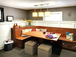 l shaped kitchen table bench image of with storage s