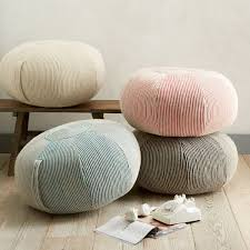 Image Diy View In Gallery Img5o Decoist Add Comfort To Your Home With Floor Pillows And Poufs