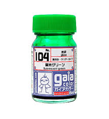 Gaianotes Color Chart Gaianotes Gaia Color No 104 Fluorescent Green 15ml