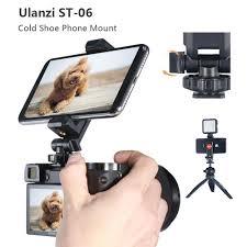 <b>Ulanzi ST</b>-<b>06</b> Vertical Shooting Phone Mount Holder On Camera ...